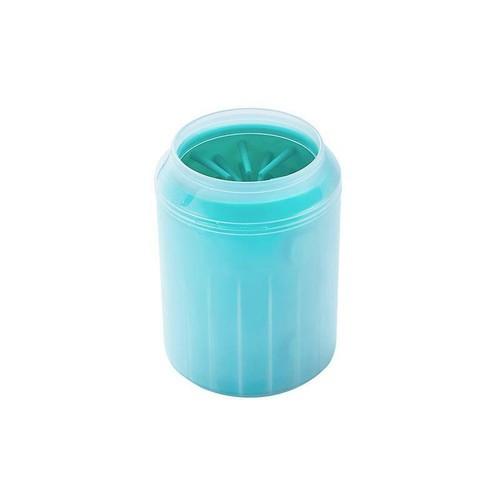 【注文商品】【M】Silicon Portable Pet Foot Washer Cup Cleaner【Green】