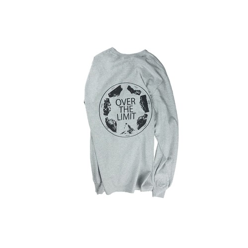 OVER-THE-LIMIT Long Sleeve/GRAY