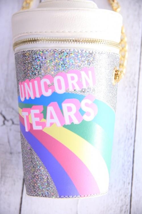 unicorn tears bottle bag