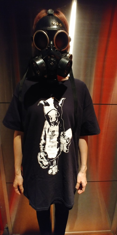 Bug Screaming IJEN KAI Boarロゴ Tシャツ 黒