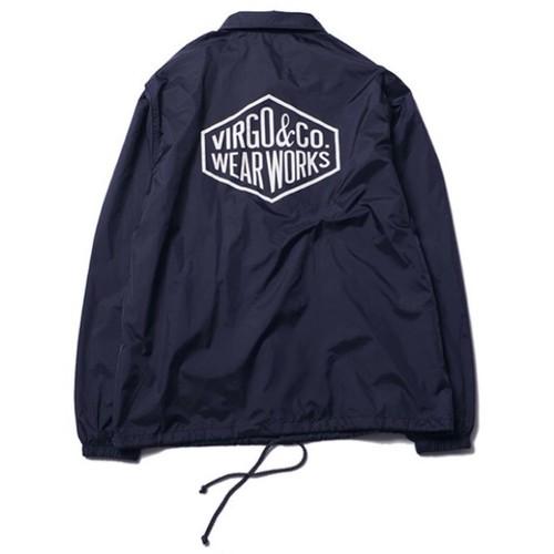 VIRGO Diamond logo Crew jacket / ヴァルゴ コーチジャケット / VG-JKT-188