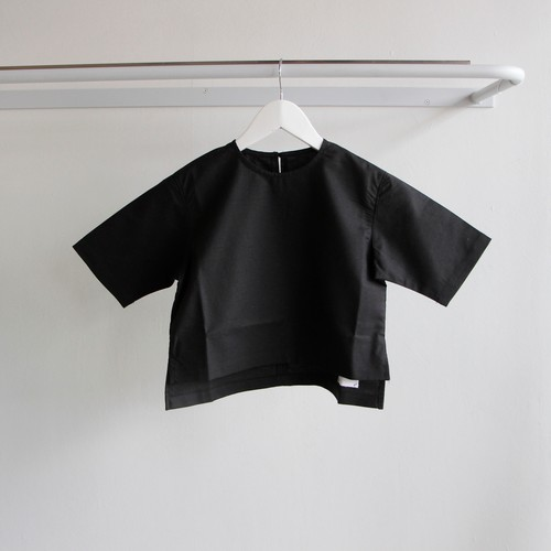 《WONDER FULL LIFE 2018SS》BLOUSE / black / S・M