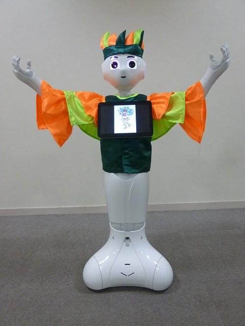 ロボット☆ファッション☆民族衣装☆ブラジル☆サンバ衣装☆Pepper向け PSMB17-002
