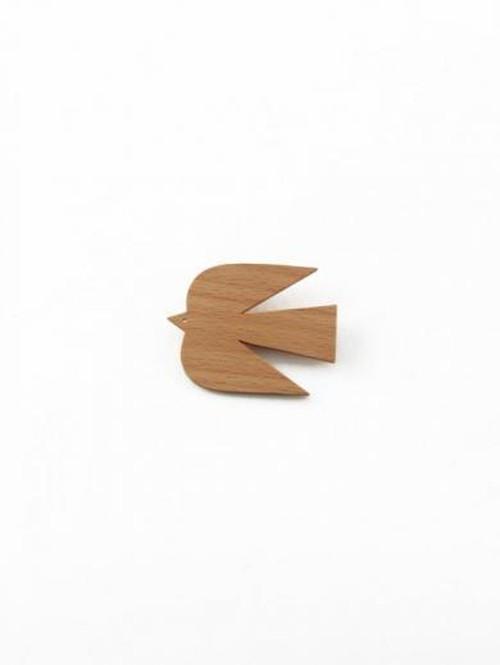 WOOD BROACH 鳥