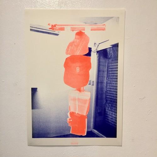 [POSTER] Shin Hamada risograph poster
