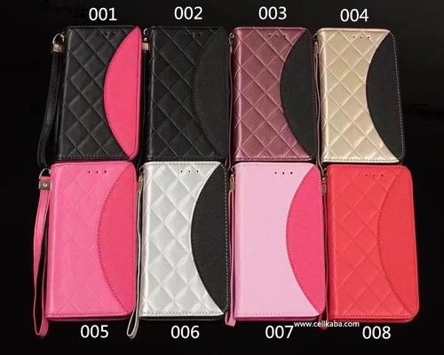 オリジナル iphoneX 手帳型 エレガント ブランド 菱形柄 ギャラクシーs8プラスケース ストラップ付き iPhone8 ケース レザー 送料無料