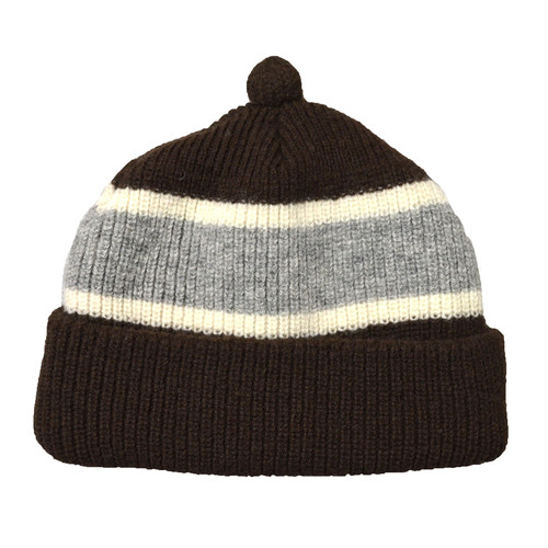 NOROLL (ノーロール) / GERMINATE BEANIE -BROWN-