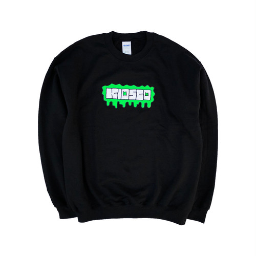 KIOSCO ZOMBRA LOGO Crew Sweat Black
