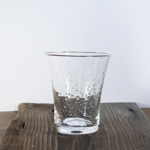 そら豆ガラス商店 泡ドットグラス