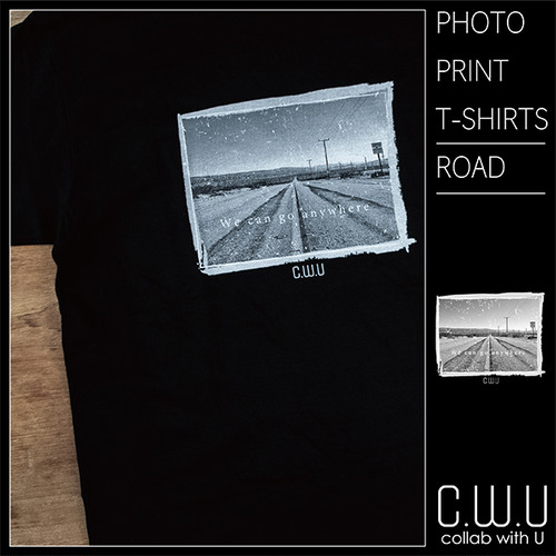 PHOTO PRINT T-SHIRTS [ROAD]