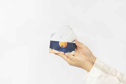 【NEW】夜空と満月の、カードケース
