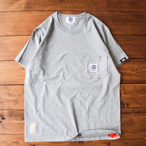 【DARGO】Working Pocket T-shirt (HEATHER GREY)