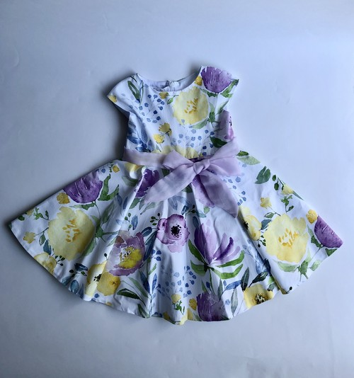 ELSY  花柄ワンピース 3才(98cm) エルシー