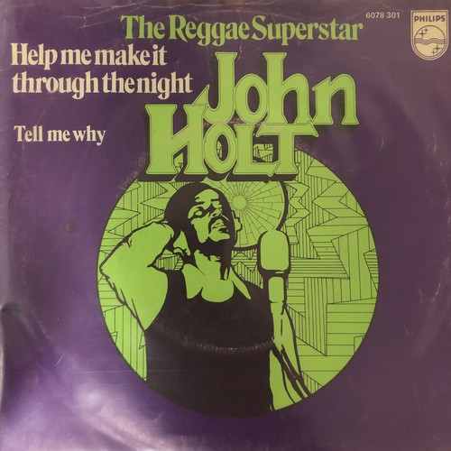 John Holt - Help Me Make It Through The Night【7-20526】