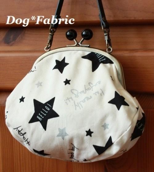 Dog*Fabric  【がま口消臭マナーバッグ】