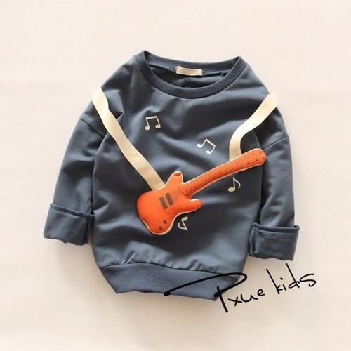 ギターマスコット付ロングTシャツ