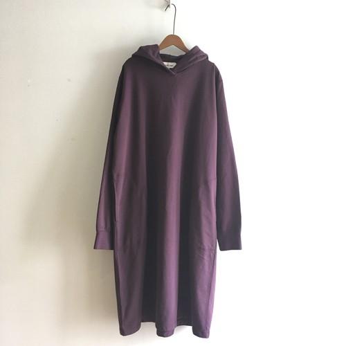 C-91251 Light Sweat Hooded Dress