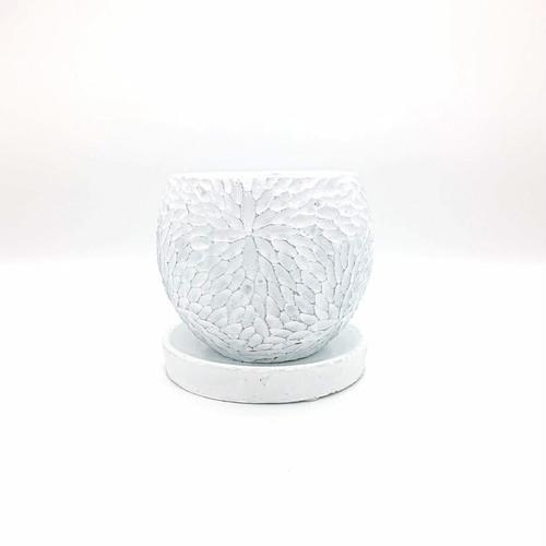 raraiuvant 陶器鉢 ホワイト Mサイズ