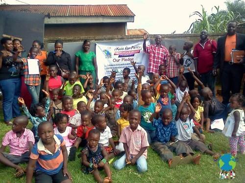 ウガンダの孤児院 キッズ フォー ピースへの支援