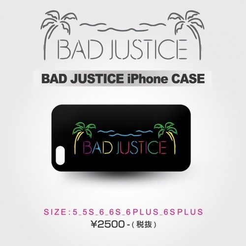 BAD JUSTICE iPhone 6/6S ケース
