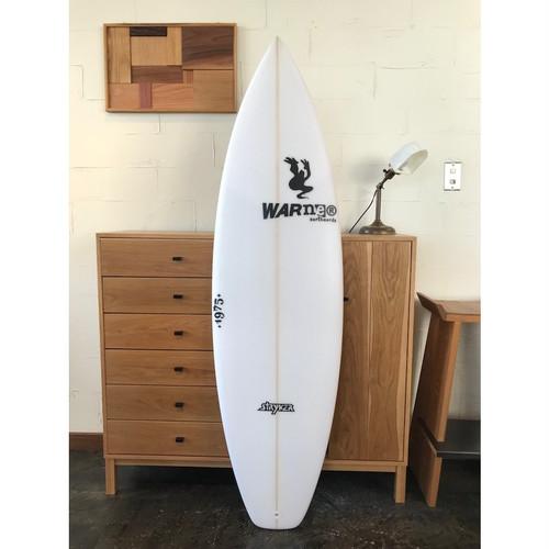 """STRYKER Model 5'6"""" x 18 3/8"""" x 2 1/8"""" // WARNER SURFBOARDS"""
