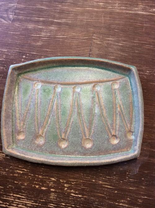月と魚 サーカスドラム皿