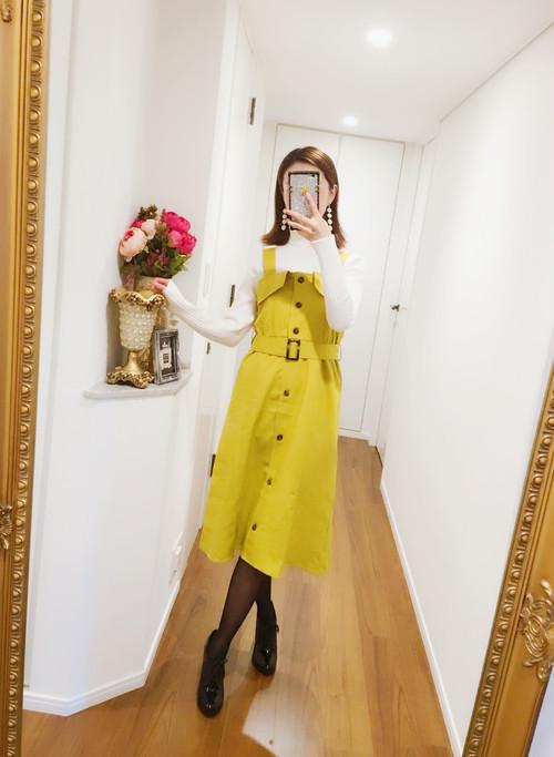 トレンチジャンパースカート♡