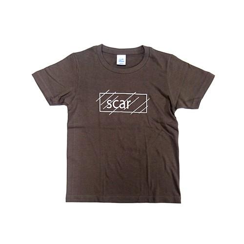 scar /////// OG KIDS TEE (Cement) 5.0oz (140サイズ)