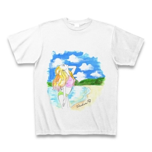 Shine woman T-shirts 諸鈍 Mens