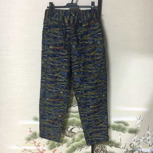 "ink 2017AW ""SPACE CAMO PANTS"" COLOR"