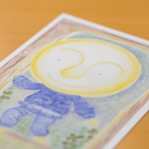 「ねんねバス」ポストカード#3