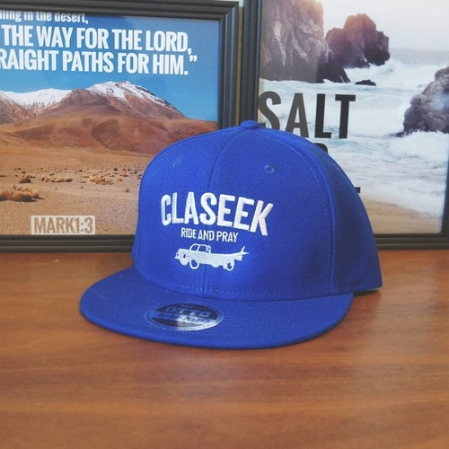 "TRUCK LOGO BASEBALL CAP ""ROYALBLUE"""