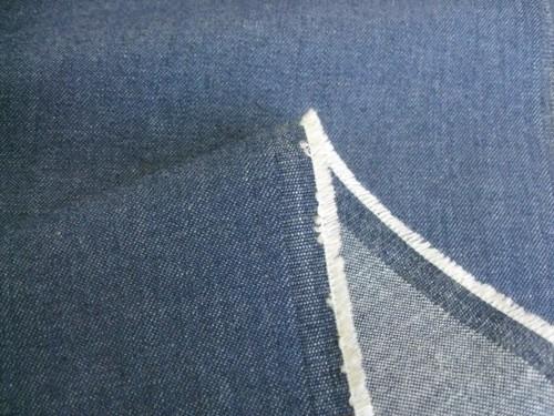 綿ストレッチソフトデニム 7~8オンス ブルー CTN-0173