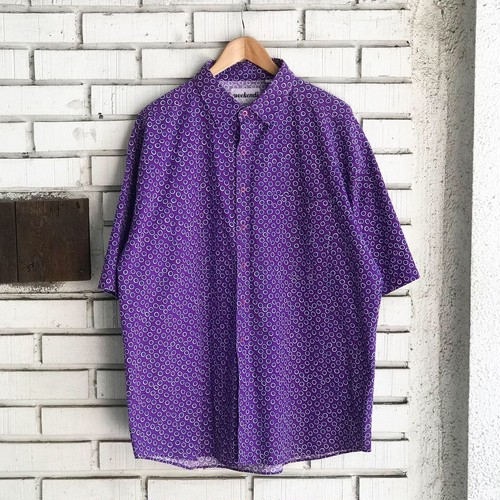 USED CLUSTER PATTERN S/S Shirt