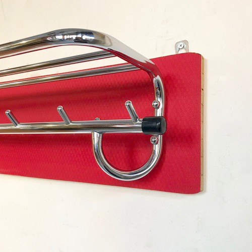 Red × Crome Vintage Wall Hanger 60's オランダ