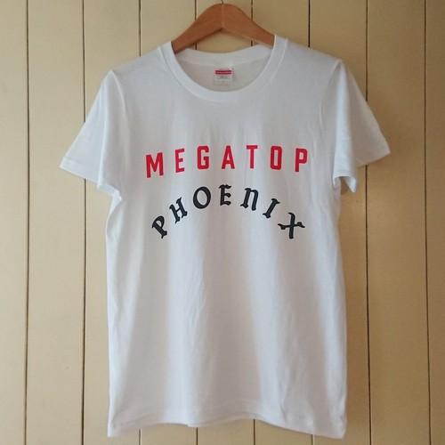 MEGATOP PHOENIX T-shirts col.wht