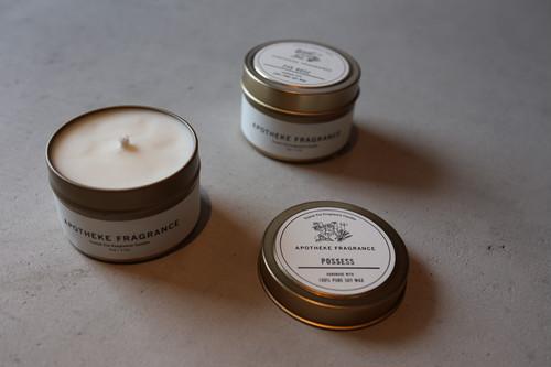 『APOTHEKE FRAGRANCE』travel tin candle