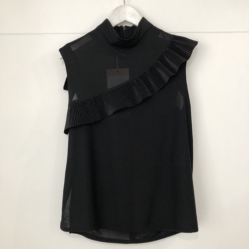 EAUSEENON Two Tone Tops Black