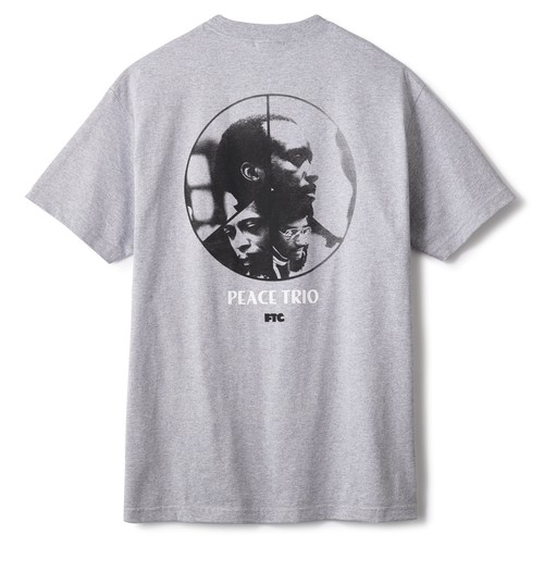 FTC / PEACE TRIO TEE -GREY-