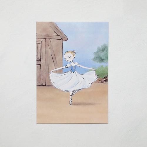 バレエポストカード・ジゼル一幕vol.1