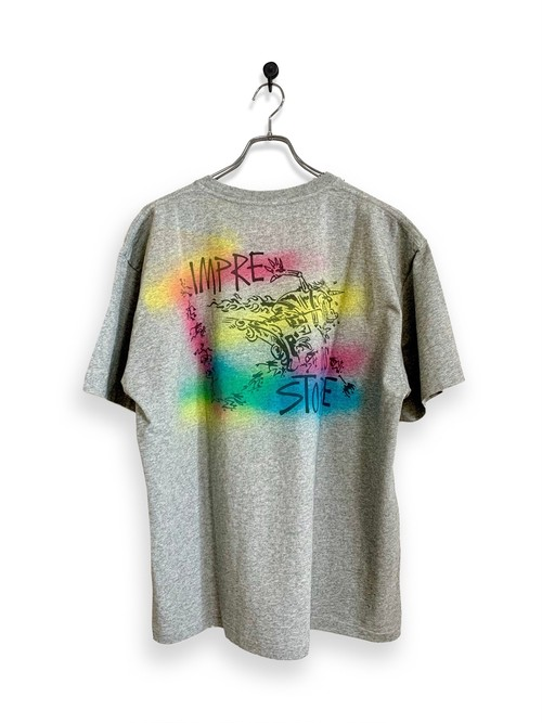 Original Short Sleeve-T / air brush / gray