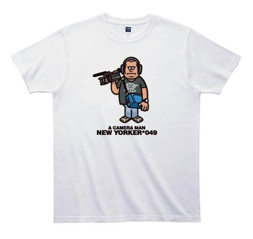 《山本周司Tシャツ》TY049/ A CAMERA MAN