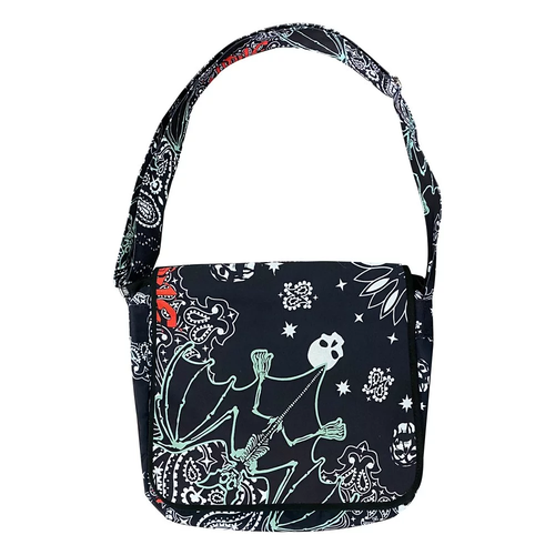 VIRUS WORLD  Virus Paisley Bag BLACK