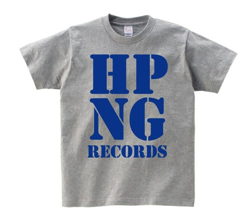 HOPPING RECORDS OFFICIAL T-SHIRT(グレーボディー)