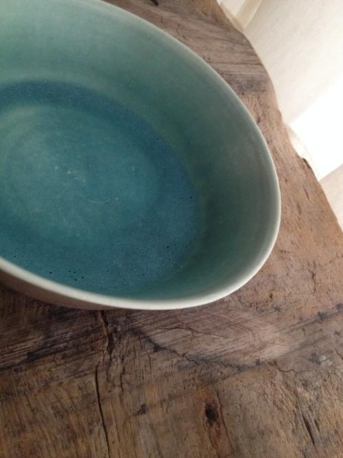 outlet:cereal bowl(内側blue)