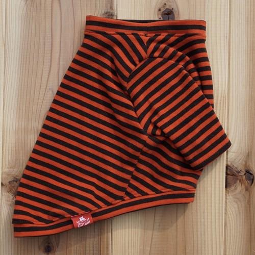【再販】あったかインナー☆極暖ブヒテック|オレンジ×ブラウン