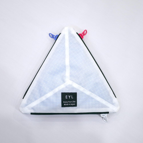 EYL / MEDIUM POUCH(WHITE)