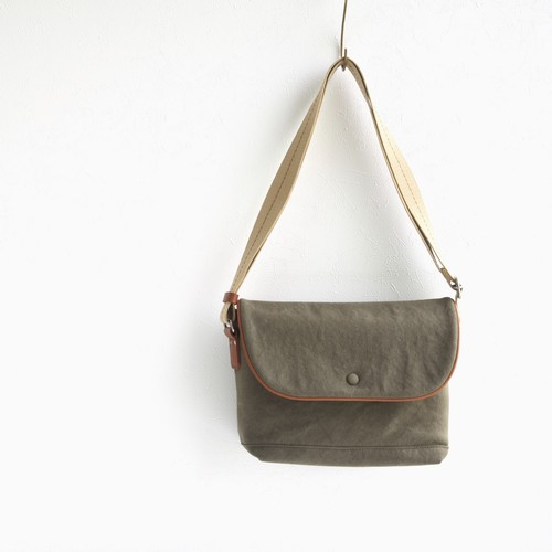 CANVAS FLAP SHOULDER S / ARMY
