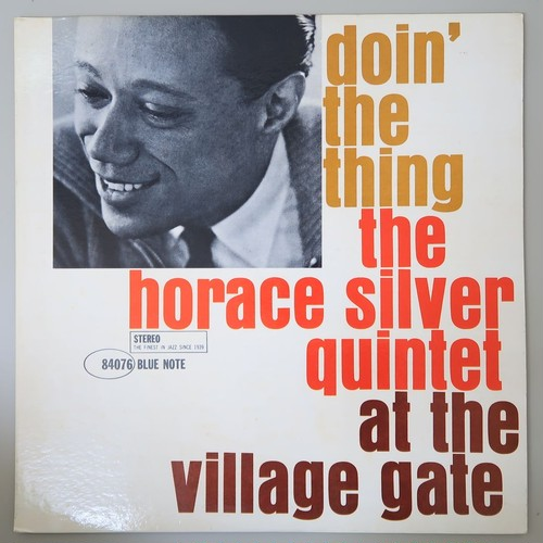 HORACE SILVER / DOIN' THE THING US/newyork盤
