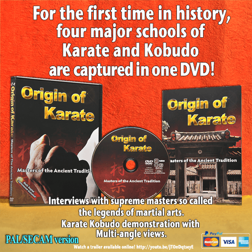 Origin of Karate(PAL/SECAM) On this shop ALL English version are not available. However, you can purcahse from the Direct Store in Our Official site!! So visit URL http://www.okinawakarate.jp/#!shvclab/c1373